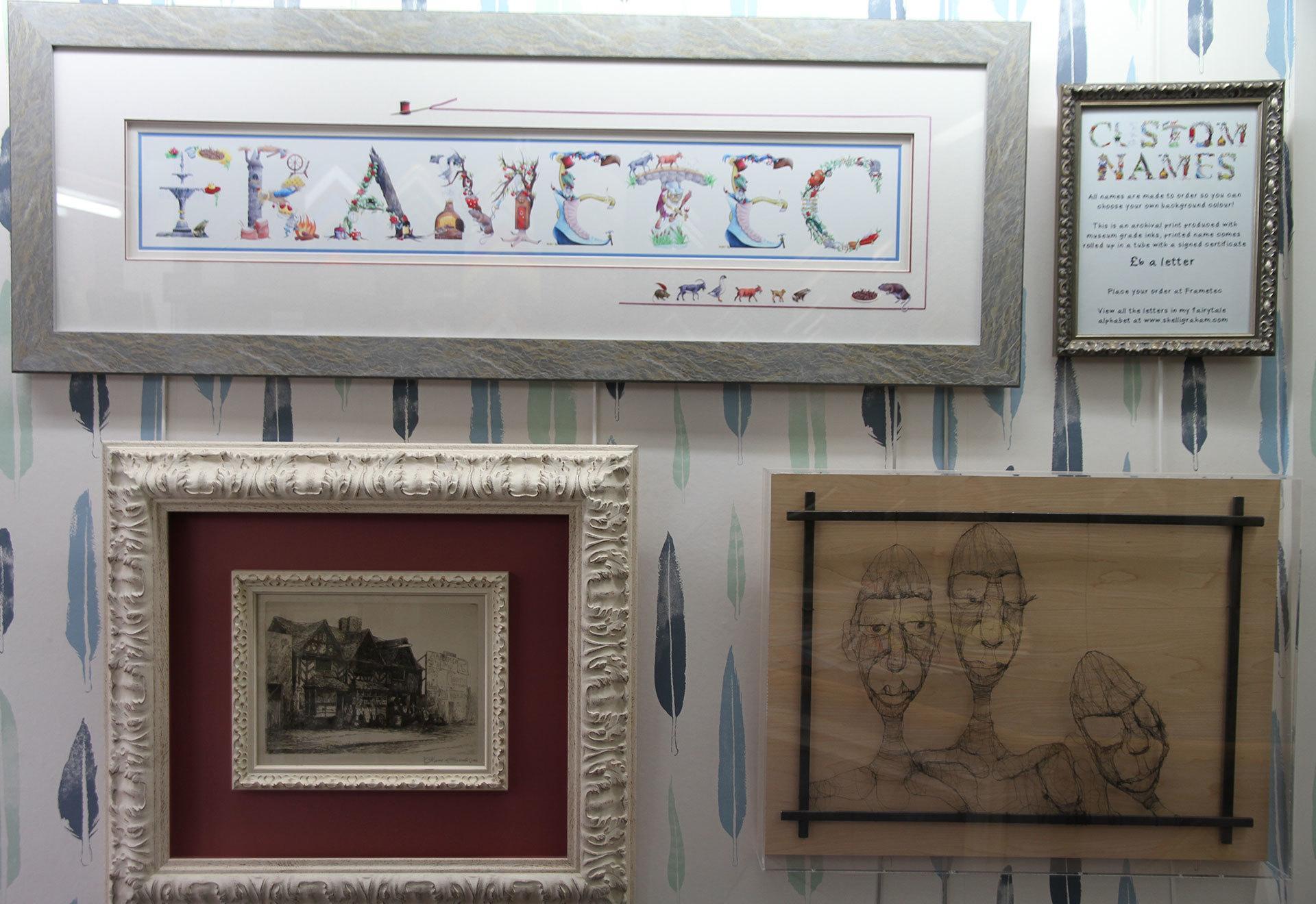 Picture framing services in Harborne Birmingham | Frametec